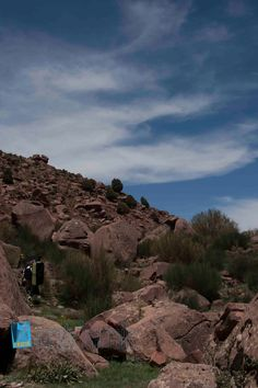 Bouldering in Morocco with imik'simik. check www.imiksimik.nl for further information