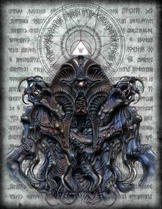 """Russell's Guide to Interdimensional Entities"" Nyarlathotep"