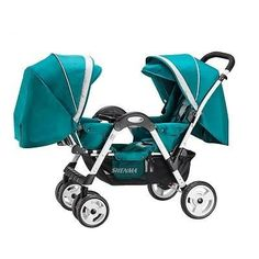 Lightweight Twins Stroller Double Baby trolley to Sit Face to Face, Can Sit & Lie, 2 Seats Pushchair for Months Kids Double Baby Strollers, Twin Strollers, Baby Trolley, Travel Stroller, Umbrella Stroller, Baby Teethers, Twin Babies, Free Baby Stuff, Beautiful Babies