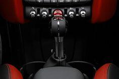 2021 Mini John Cooper Works Convertible Gear Shifter Photo Mini Cooper Models, Audi Tt Roadster, Fiat 124 Spider, Mini Cooper Convertible, John Cooper Works, Six Speed, Fuel Economy, Rear Seat, Exterior Design