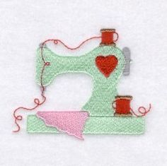 Sewing Machine Embroidery design. Free Embroidery Designs and Free Embroidery Downloads | Starbird Stock Designs