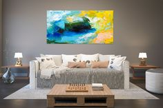 Items similar to Large Painting on Canvas,Original Painting on Canvas,modern wall canvas,abstract originals,huge canvas painting on Etsy Large Abstract Wall Art, Large Canvas Art, Large Painting, Large Wall Art, Canvas Wall Art, Abstract Canvas, Texture Painting, Painting Art, Texture Art