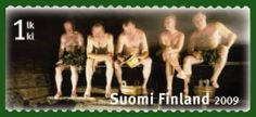 Never Sauna alone!