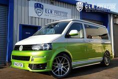 CLR Prestige Custom camper conversions | EXTERIOR PICTURES Vw T5, Volkswagen, Vw Camper Conversions, Custom Campers, Transporter, Viper, Motors, Van, Exterior