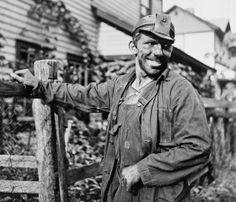 coal miner | ... | Exhibit: Coal Miners and Coal Camps — Polish coal miner, Caples