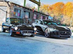 Autos. Jaguar: Tipo-E y Tipo-F