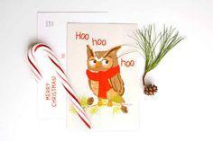 Hoo Hoo Hoo / Cute Holiday Cards