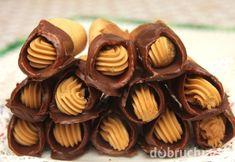 Medové trubičky s karamelovým krémom