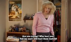 Do you watch The Goldbergs ? Seriously, The Goldbergs is quite possibly my favorite show on TV right now. Well, maybe that's Par. Tv Show Quotes, Movie Quotes, Funny Quotes, Funny Memes, Movies Showing, Movies And Tv Shows, Beverly Goldberg, Interview Quotes, The Goldbergs
