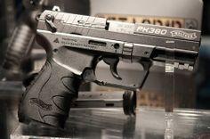 Walther Pk 380, my first handgun. Gotta love German engineering.