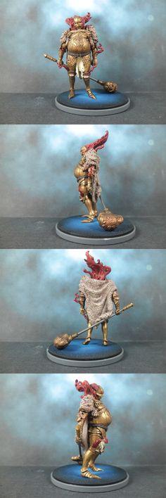 Gold Smoke Knight painted by Danit