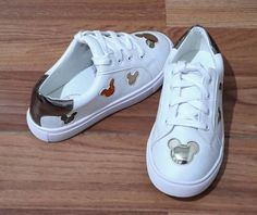 anak sepatu sneaker mickey white big