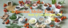 Indonesian Medan Food