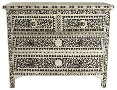 Moorish Chest - eclectic - dressers chests and bedroom armoires - Wisteria