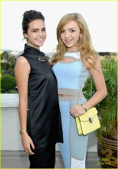 Bailee Madison and  Peyton List at the Teen Vogue Back-to-School Party