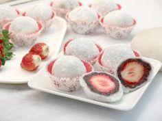 Strawberry Daifuku - Yummy!