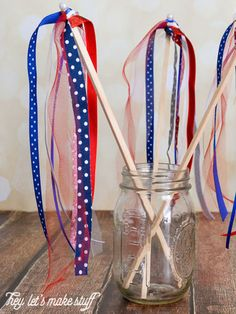I love this great use for scrap ribbon for kids of all ages from @heyletsmakestuf