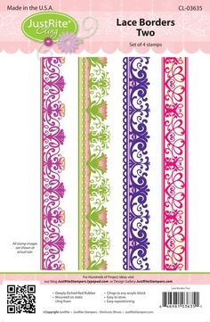 JR CL-03635 Lace Borders Two PACKAGE (2)
