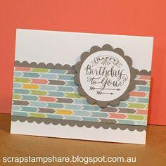 Scrap Stamp Share: Zoe Blog Hop