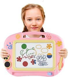 Amazon.com: Magnetic Drawing Board, Doodle Board Writing Painting Sketching Pad with 2 Magnet Shapes, Erasable Writing Magna Doodle Board Painting Toys for Kids Travel Games Early Educational Toys Birthday Gift: Toys & Games Kids Travel Games, Travel With Kids, Mabo Kids, Magnetic Drawing Board, Sketch Pad, Educational Toys, Sketching, Kids Toys, Birthday Gifts