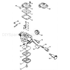 15 Best Stihl Ms 291 Images Chainsaw Diagram Ms
