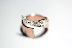 ring silver and copper