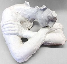 white - woman Resting - Chin on Hand, 1970 sculpture - George Segal Plaster Sculpture, Plaster Art, George Segal, High School Art Projects, Body Cast, Cast Art, A Level Art, Female Art, Robert Rauschenberg