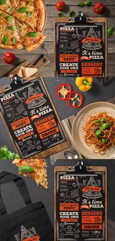 Italian Food Menu by BarcelonaDesignShop on Envato Elements Restaurant Ad, Restaurant Menu Design, Restaurant Recipes, Pizza Menu Design, Food Menu Design, Food Menu Template, Menu Templates, Italian Food Menu, Italian Recipes