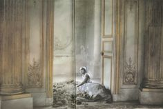 royalversailles: new library book 'Unseen Versailles' by Photographer Deborah Turbeville Manon Lescaut, Cinderella, Palace Of Versailles, Glass Slipper, World Of Color, Renaissance Art, Fashion Images, Marie Antoinette, Decoration