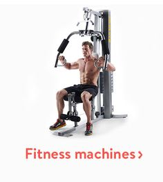 Shop for fitness machines