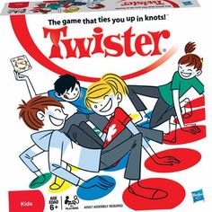 TWISTER: the game that ties you up in knots :)