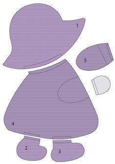 Cute little sun bonnet sue pattern