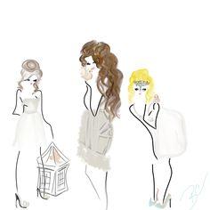 Birds #fashion #art #designsbybc