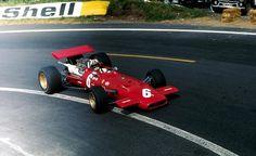 1969 GP Francji (Chris Amon) Ferrari 312