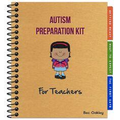 Autism Preparation Kit For Teachers~snagglebox