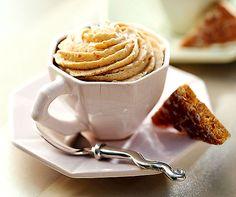 Leckerli-Mousse: Wenige Zutaten, rasch zubereitet, grossartiges #Dessert - was will man mehr... #Rezept #Läckerli