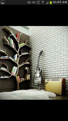 Creative book shelf