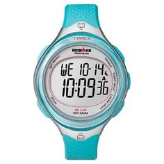 Women's Timex Ironman Performance 30 Lap Watch - Blue