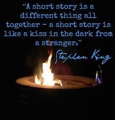 Stephen King on Short Stories