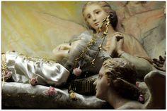 Beata Vergine Maria Bambina con angeli. Duomo di Voghera.