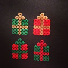 Christmas presents hama beads by vlijtigliezeke