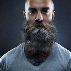 Hairy Men, Bearded Men, Bald With Beard, Beard Tattoo, Moustaches, Fuzz, Beards, Curls, Men Beard