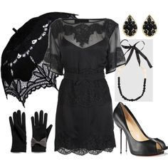 um yes! totally reminds me of vintage funeral wear in new orleans. i mean am i wrong?