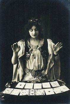 fortune teller.
