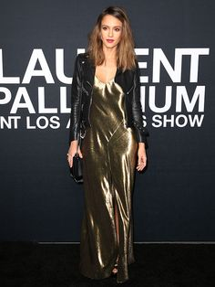 Jessica Alba at the 2016 Saint Laurent at the Palladium event in Los Angeles on February 10, 2016
