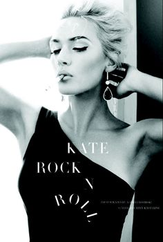 Photographed by Alexi Lubomirski, actress Kate Winslet is featured in UK Harper's Bazaar for their April issue.