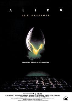 Alien, le huitième passager Plus Mad Movies, Sci Fi Movies, Horror Movies, Film D'animation, Film Books, Film Movie, Alien Movie Poster, Aliens Movie, Films Cinema