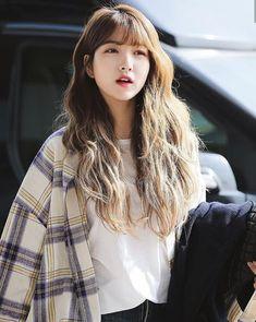 Sowon es un cachorro Golden Retriever, es la mascota y mejor amigo de… #fanfic # Fanfic # amreading # books # wattpad Kpop Girl Groups, Kpop Girls, K Pop, Gfriend Sowon, G Friend, Aesthetic Girl, Ulzzang Girl, Pop Group, Blue Hair