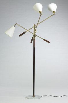 3 arm floor lamp | Lighting | Pinterest | Floor lamp, Marbles and ...