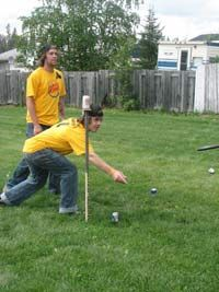 frisbee beer game how to make